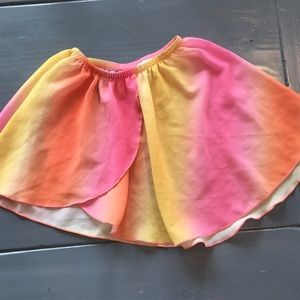 BODY WRAPPERS kids dance skirt